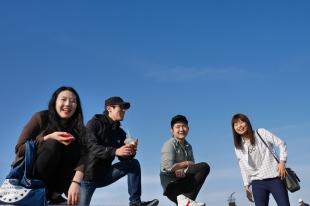 Jieun, Youngchan, Sangwoo, Inkyung